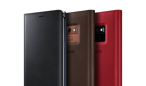 Galaxy Note 9 Leather Flip Wallet